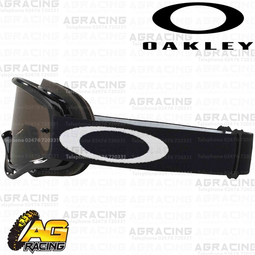 e6c0c33f12 Oakley O-Frame MX Goggles Jet Black with Dark Grey Lens Motocross Enduro