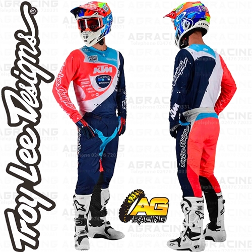2020 Troy Lee Designs TLD GP AIR Motocross Race Kit Gear Team KTM Navy Adults