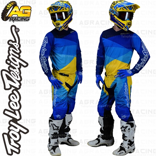 2019 Troy Lee Designs GP Jet Pants-Blue-34