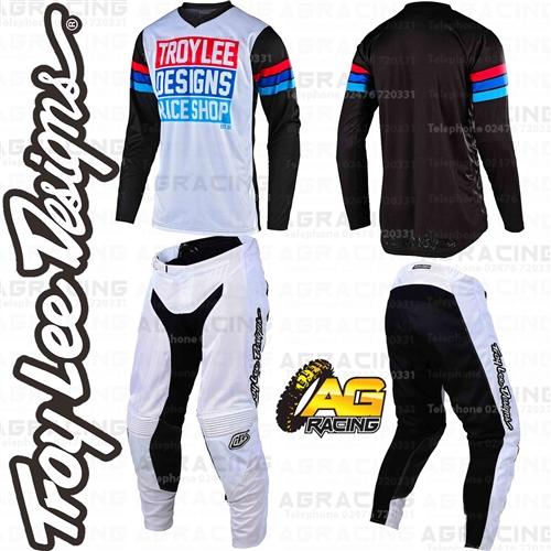 Small Jersey // 30 Pant Troy Lee Designs Gp Air Saddleback Black//Cyan combo mx gear