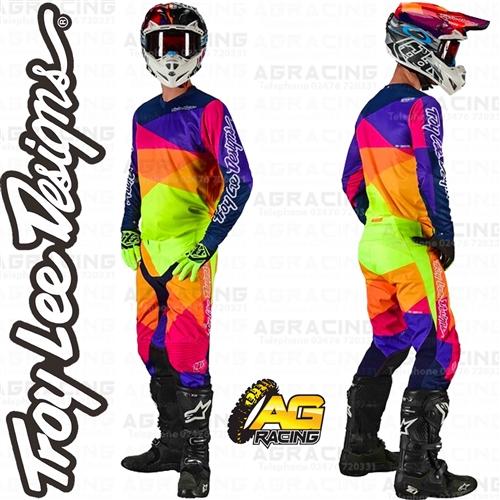 Troy Lee Designs Adult Off Road Motocross GP Jet Jersey Yellow//Navy, Medium