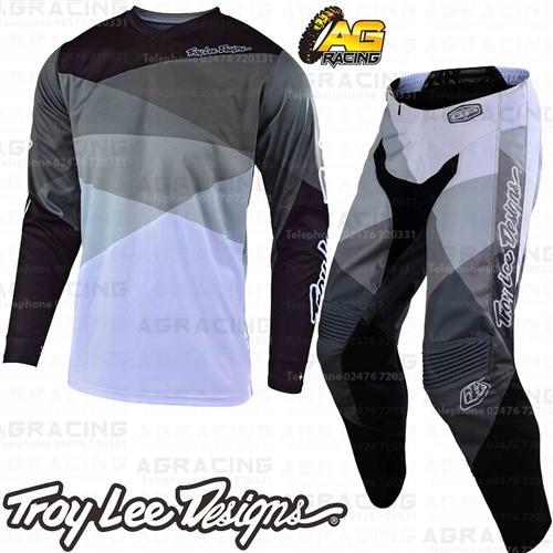 ce742237 Details about Troy Lee Designs 2019 GP Jet Grey Youth Race Jersey Pants  Combo Kit Motocross