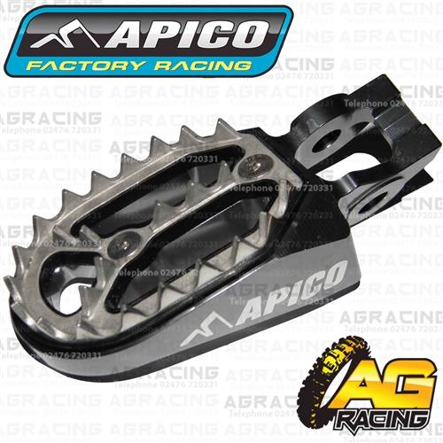 Apico Pro Bite Orange Wide Footpegs For KTM EXC 250 TPI 2018 Motocross Enduro